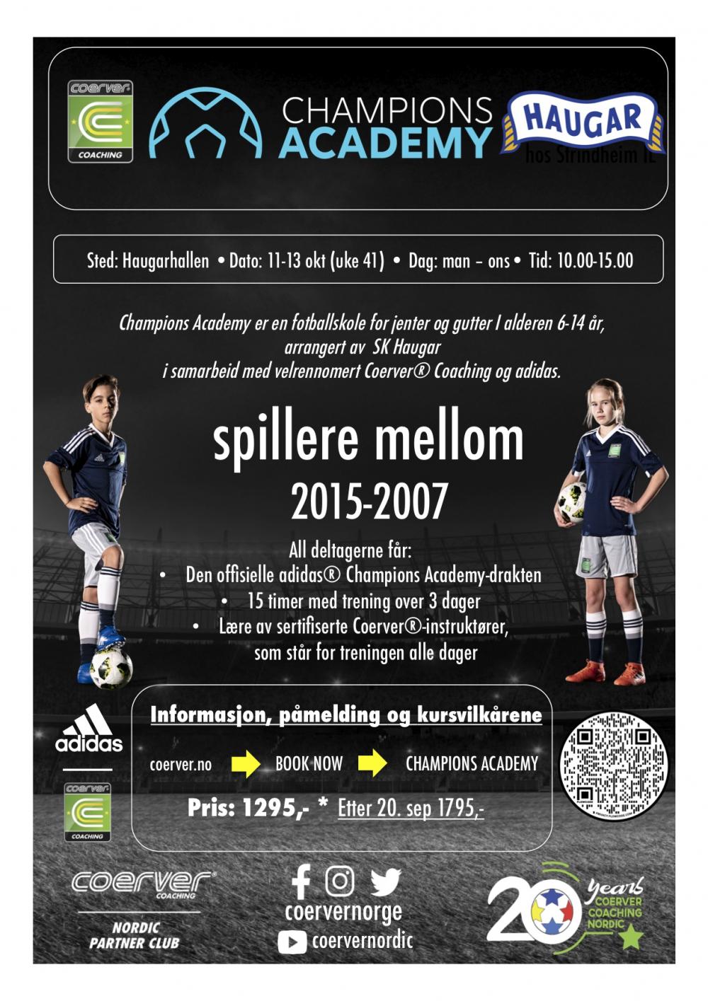 Champions Academy hos SK Haugar 2021