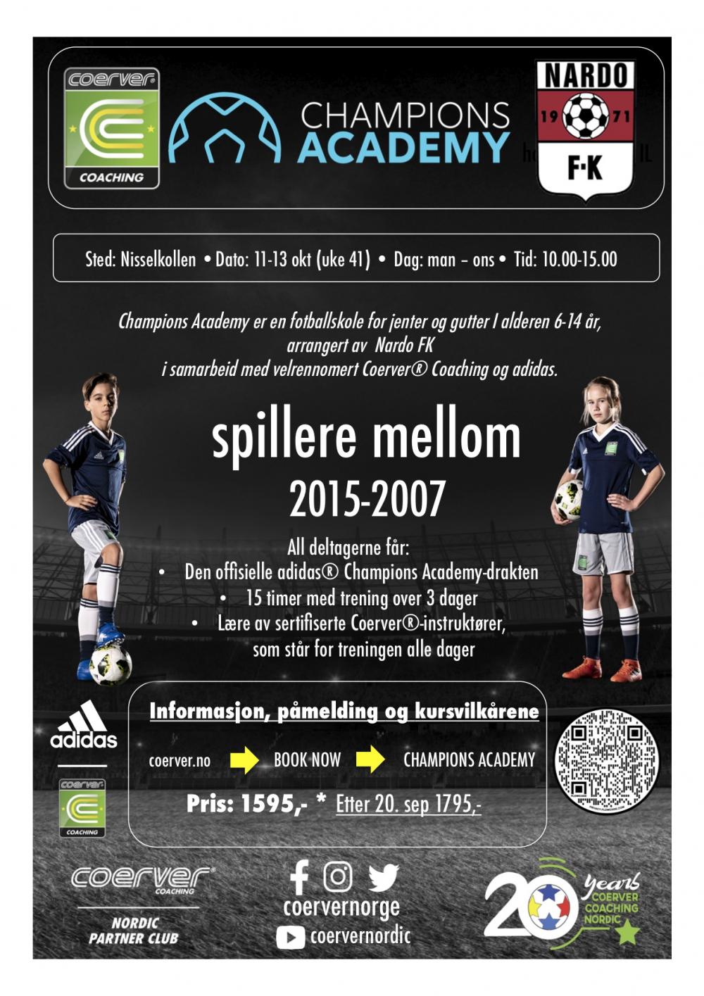 Champions Academy hos Nardo FK 2021