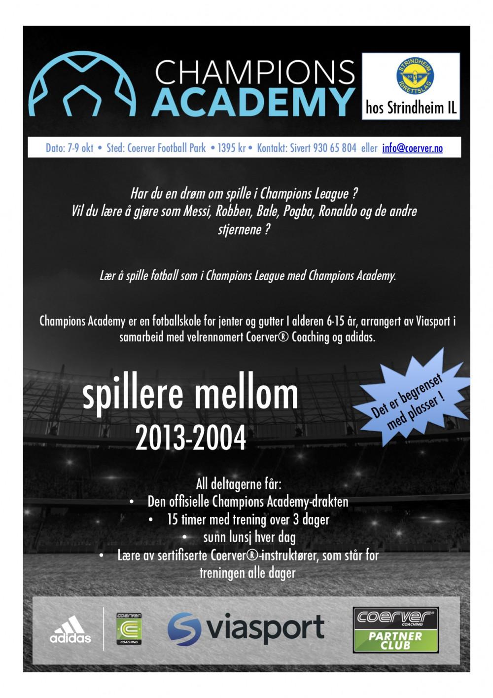 Champions Academy hos Strindheim IL 2019