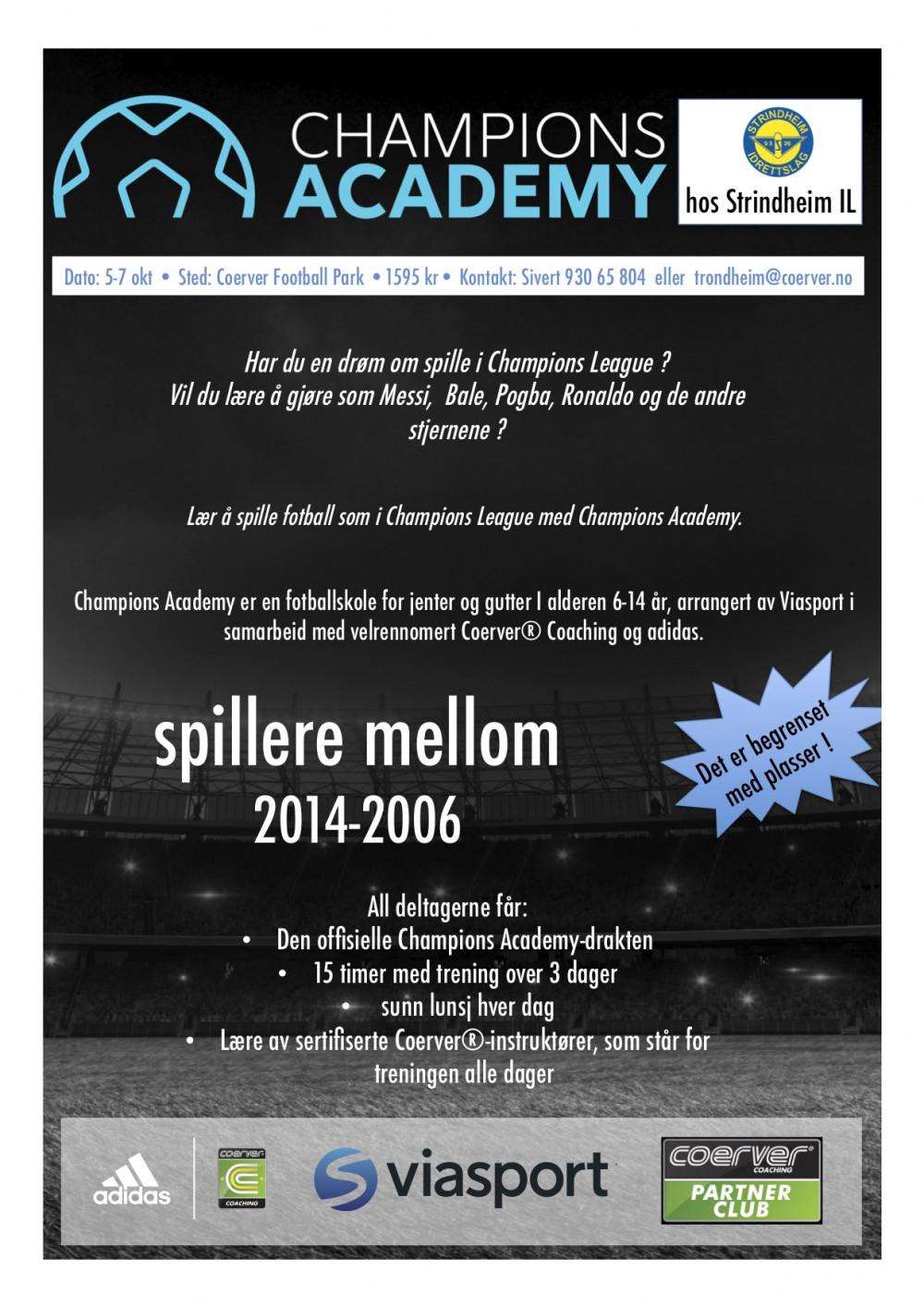 Champions Academy hos Strindheim IL 2020
