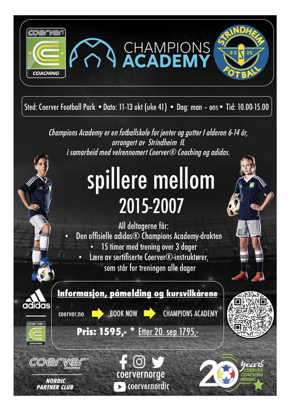 Champions Academy hos Strindheim IL 2021