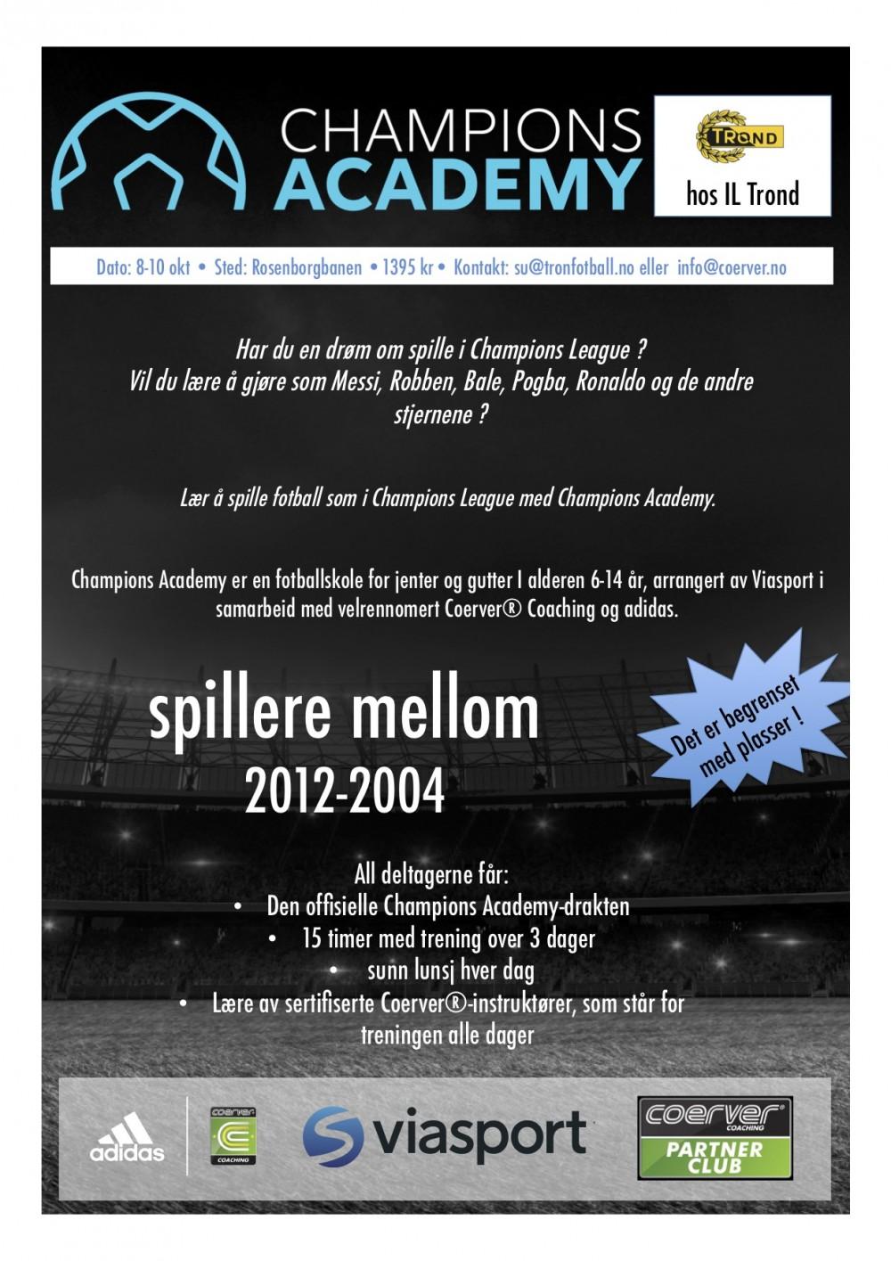 Champions Academy hos IL Trond SK  uke 41