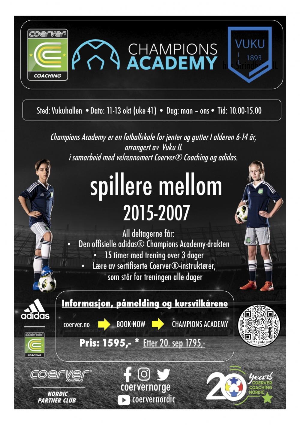 Champions Academy hos Vuku IL 2021