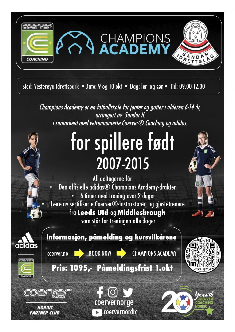 Champions Academy hos Sandar IL  2021