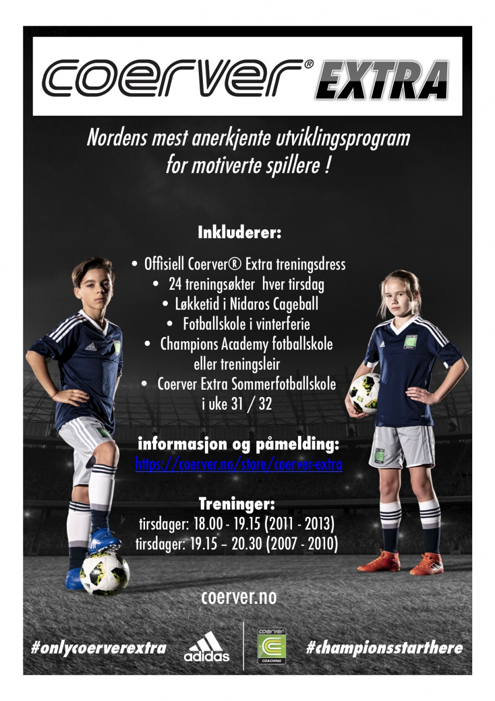 Coerver Extra Trondheim - født 2007