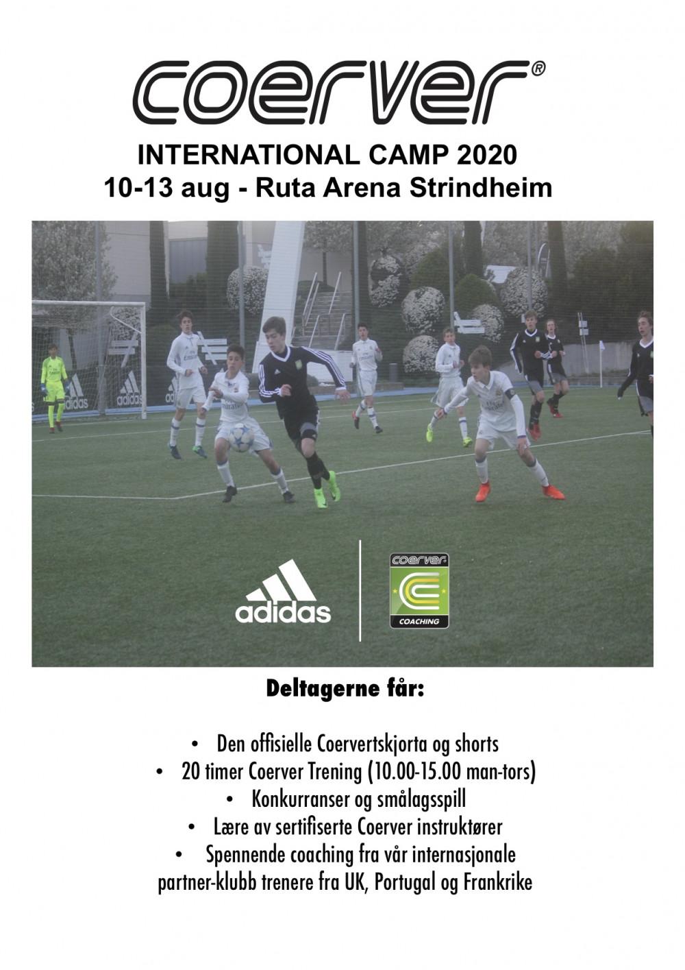 Coerver International Camp - Trondheim 2020 (UKE 33)