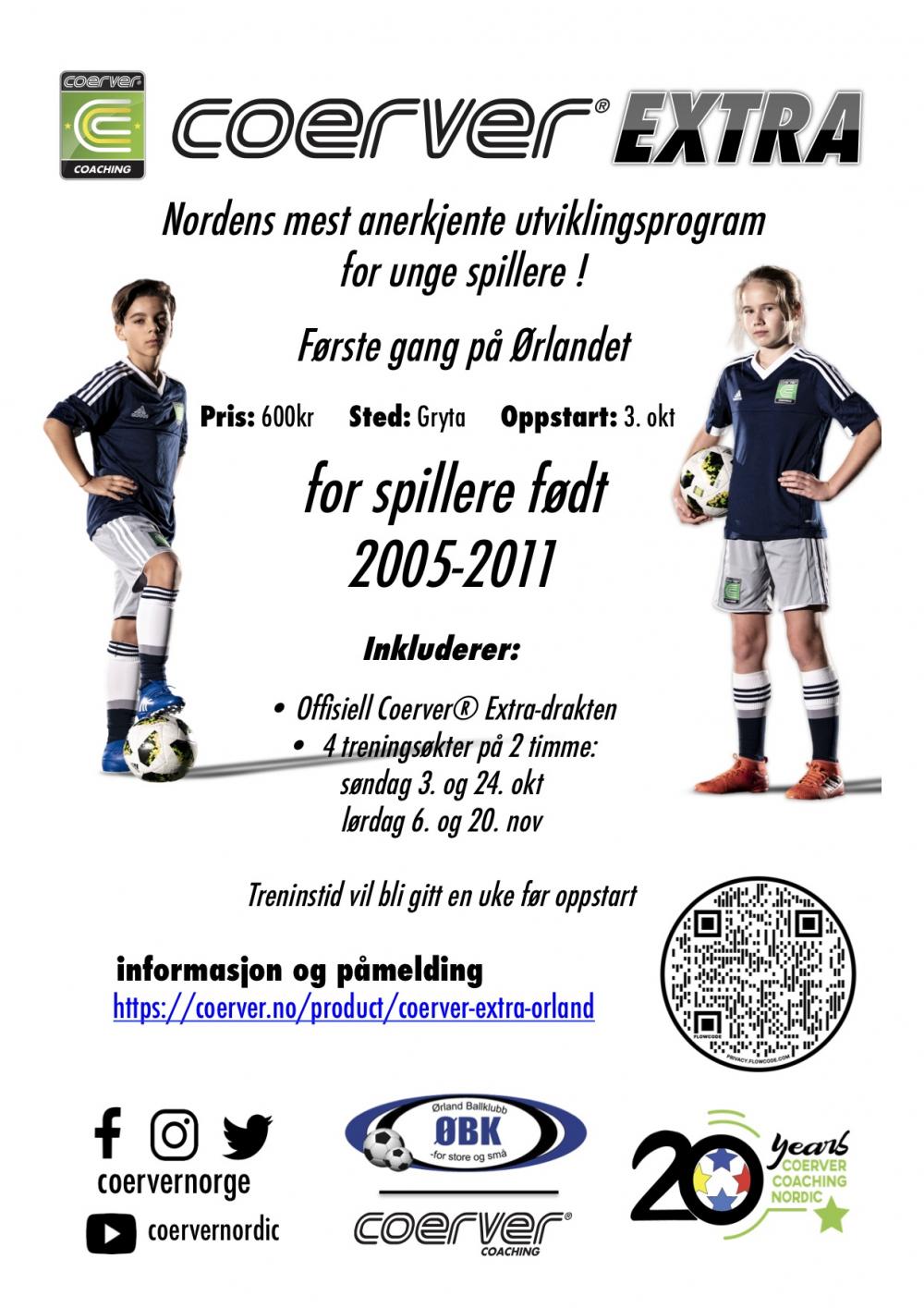 Coerver Extra Ørland 2021