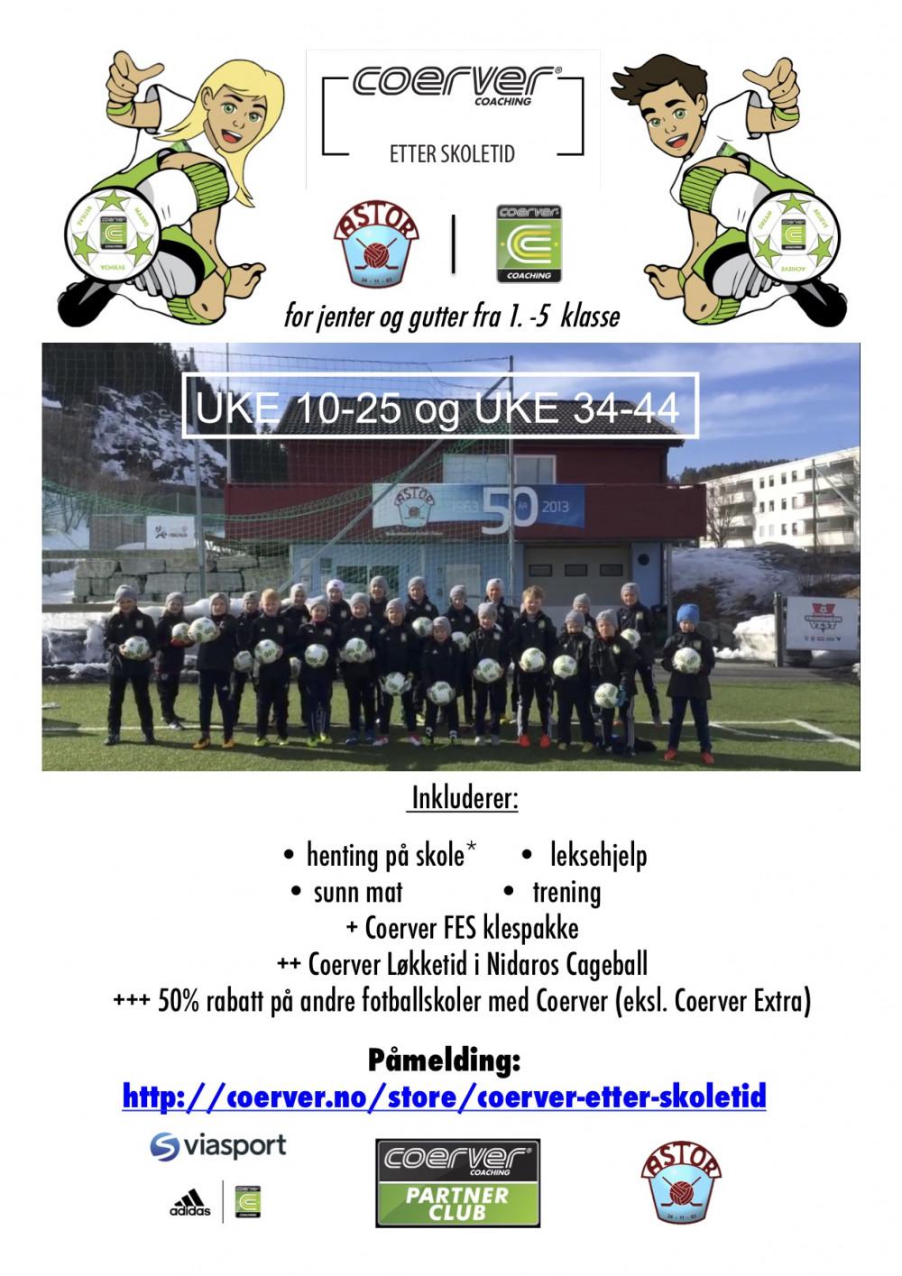 Coerver - Astor FK FES (uke 10-25 & 34-44)