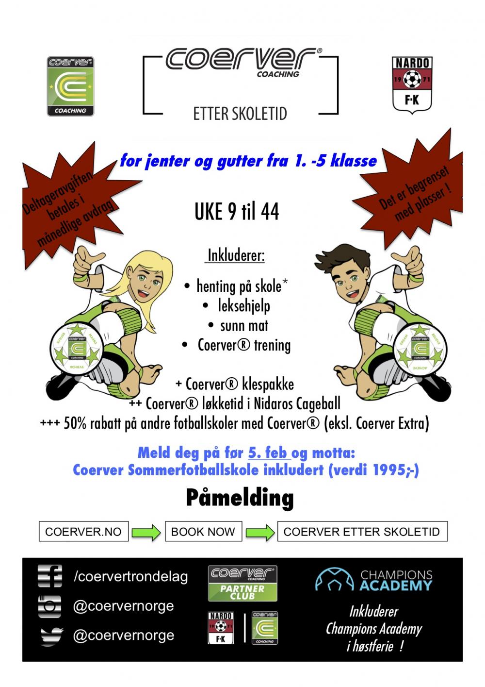 Coerver Nardo FK - FES