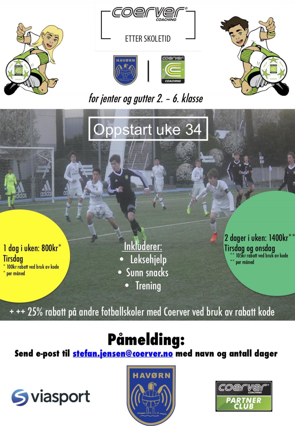 Fotball Etter Skoletid, Havørn høst - 1 dag