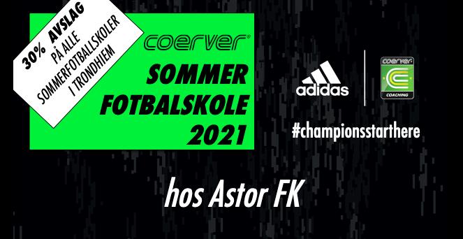 Coerver Sommerfotballskole hos Astor FK 2021 (uke 25)