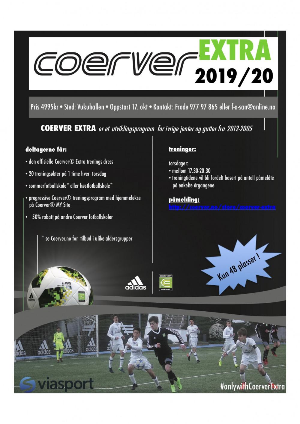 Coerver Extra Vukuhallen 2019/20