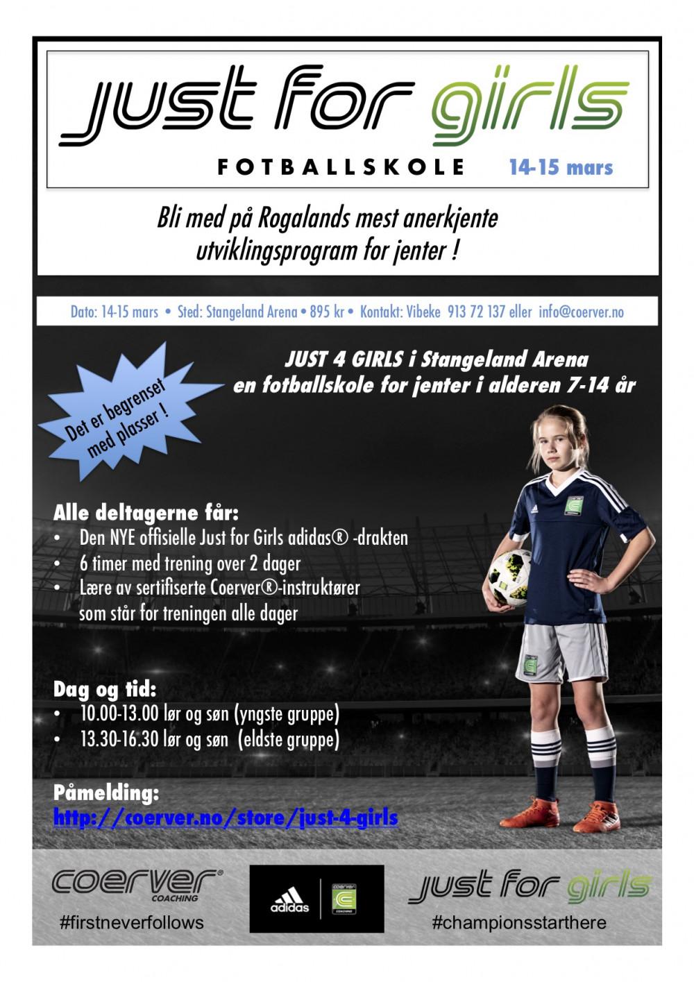 Just 4 Girls - Stangeland Arena 14-15 mars